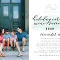 San Francisco Holiday Card Mini Sessions / Anna Wu Photography & Brown Fox Calligraphy