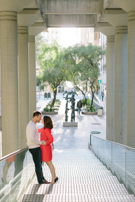 Embarcadero Center & Ferry Building | San Francisco Engagement P