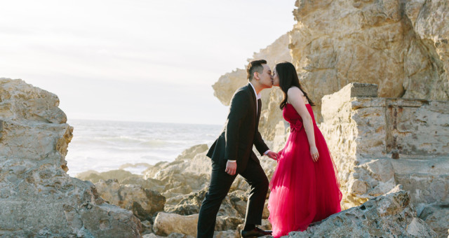 Maxine & Justin | Sutro Baths | San Francisco Engagement Photography