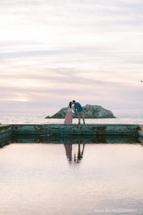 Sutro Baths | San Francisco Engagement Photography | Maxine & Ju