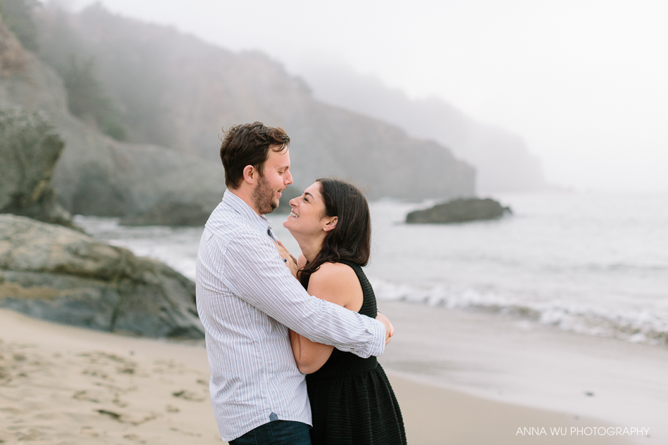 China Beach, San Francisco Engagement Photography | Sarah & Nathan