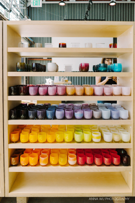 Glassybaby Berkeley Hotshop | Anna Wu Travelogues