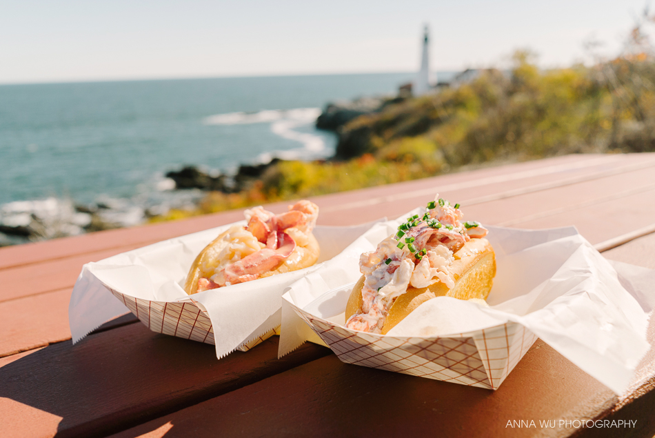 Bite into Maine Lobster Rolls | Cape Elizabeth, Maine | Anna Wu