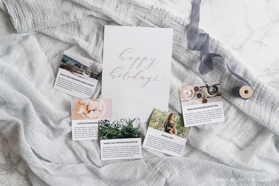 Travel-Themed Holiday Gifts | Anna Wu Photography