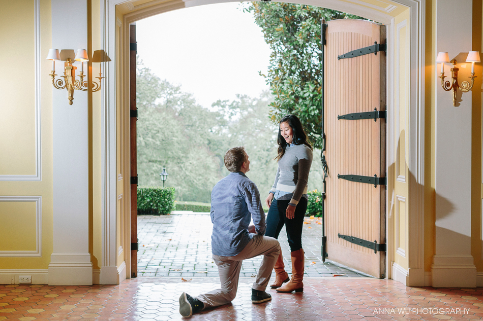Wine Country Surprise Proposal | Jordan Winery, Healdsburg
