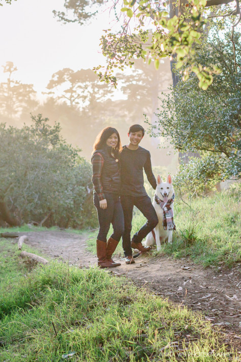 San Francisco Holiday Mini Sessions in Golden Gate Park