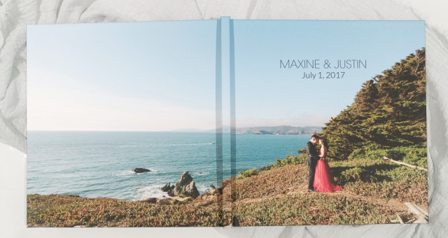 Maxine & Justin | Engagement Guest Book