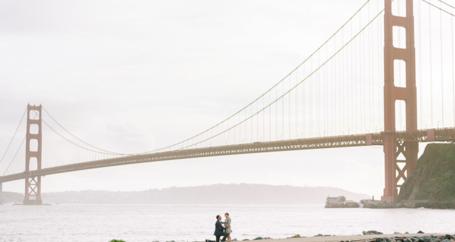 Molly & Oliver | Golden Gate Bridge Surprise Proposal Photography