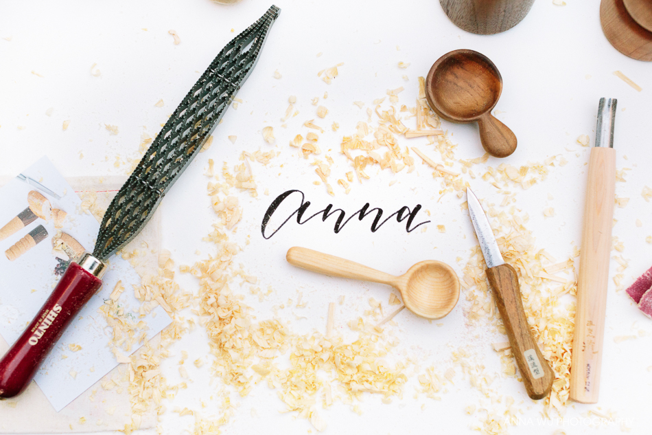 Spoon Carving Workshop | Anna Wu's Birthday Party