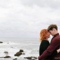 Pigeon Point Lighthouse Engagement Portraits | Anna Wu Photograp