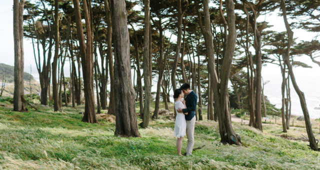 Megan & Andrew | Sutro Baths Engagement Photography