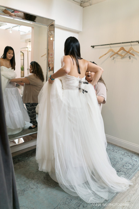 Wedding Dress Shopping in San Francisco