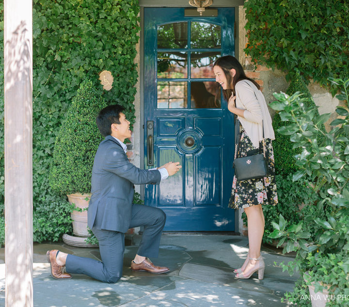Jenny & Thomas | The French Laundry | Surprise Proposal Photography