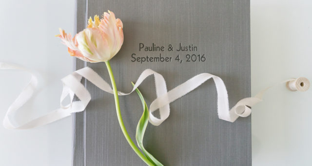 Pauline & Justin | Silver Moon Custom Wedding Album
