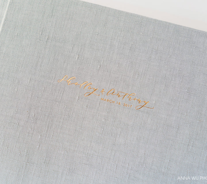 Shelley & Anthony | Frost & Rose Gold Wedding Album