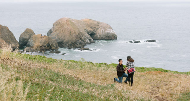 Tina & Michael | Marin Headlands Surprise Proposal Photography