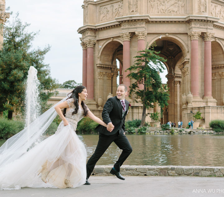 Alie & Nat | Palace of Fine Arts Wedding Photography