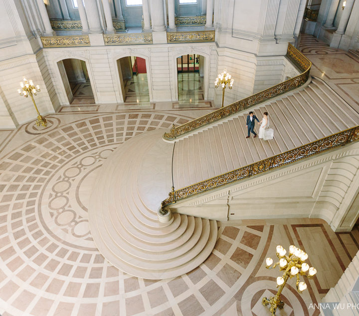 Katherine & Kaman | San Francisco City Hall Wedding Photography