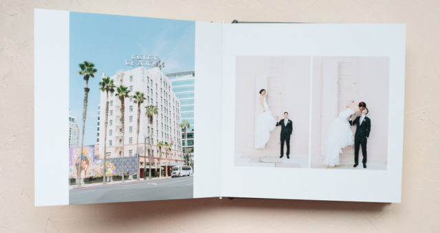 Cindy & Jon | Grey Silk Wedding Album