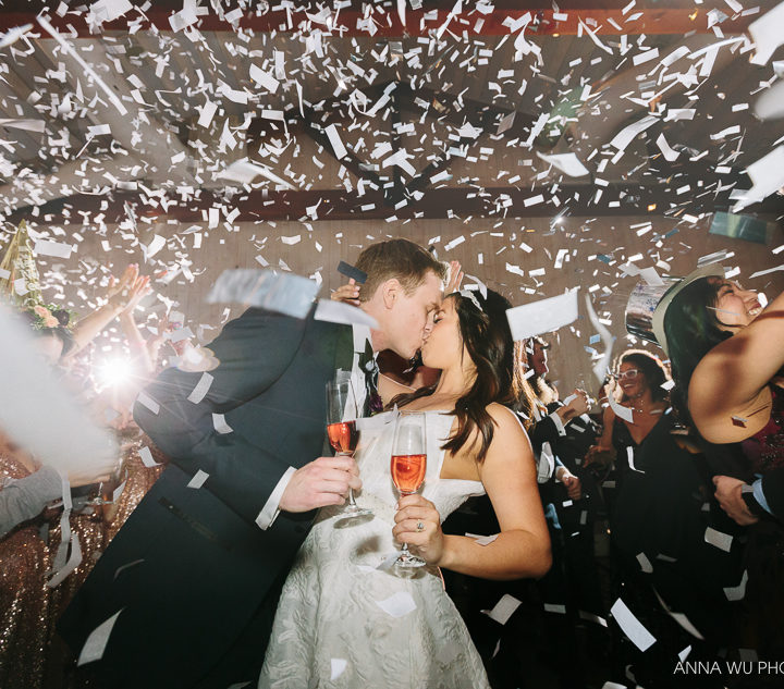 Tiffany & Greg | New Year's Eve Wedding at Park Winters